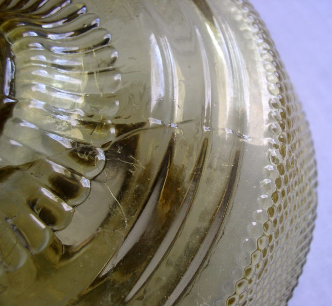 Amber Colonial Lamp 5