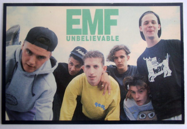 EMF Unbelievable Postcard 1