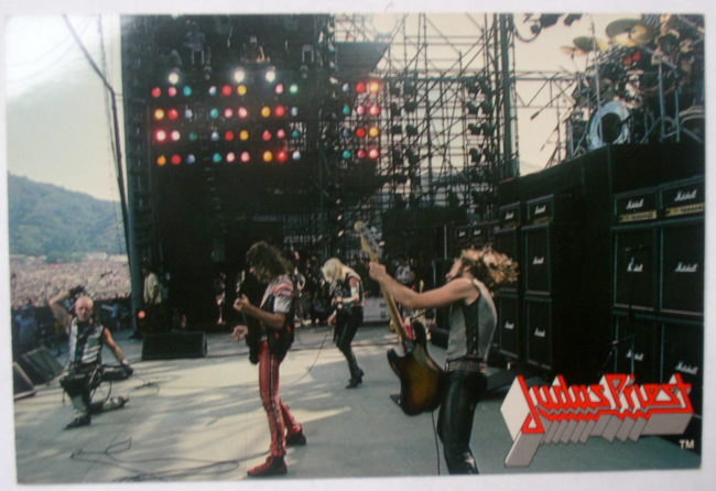 Judas Priest Concert Postcard 1
