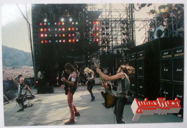 Judas Priest Concert Postcard 1