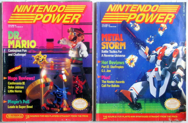 Nintendo Power Magazines 1