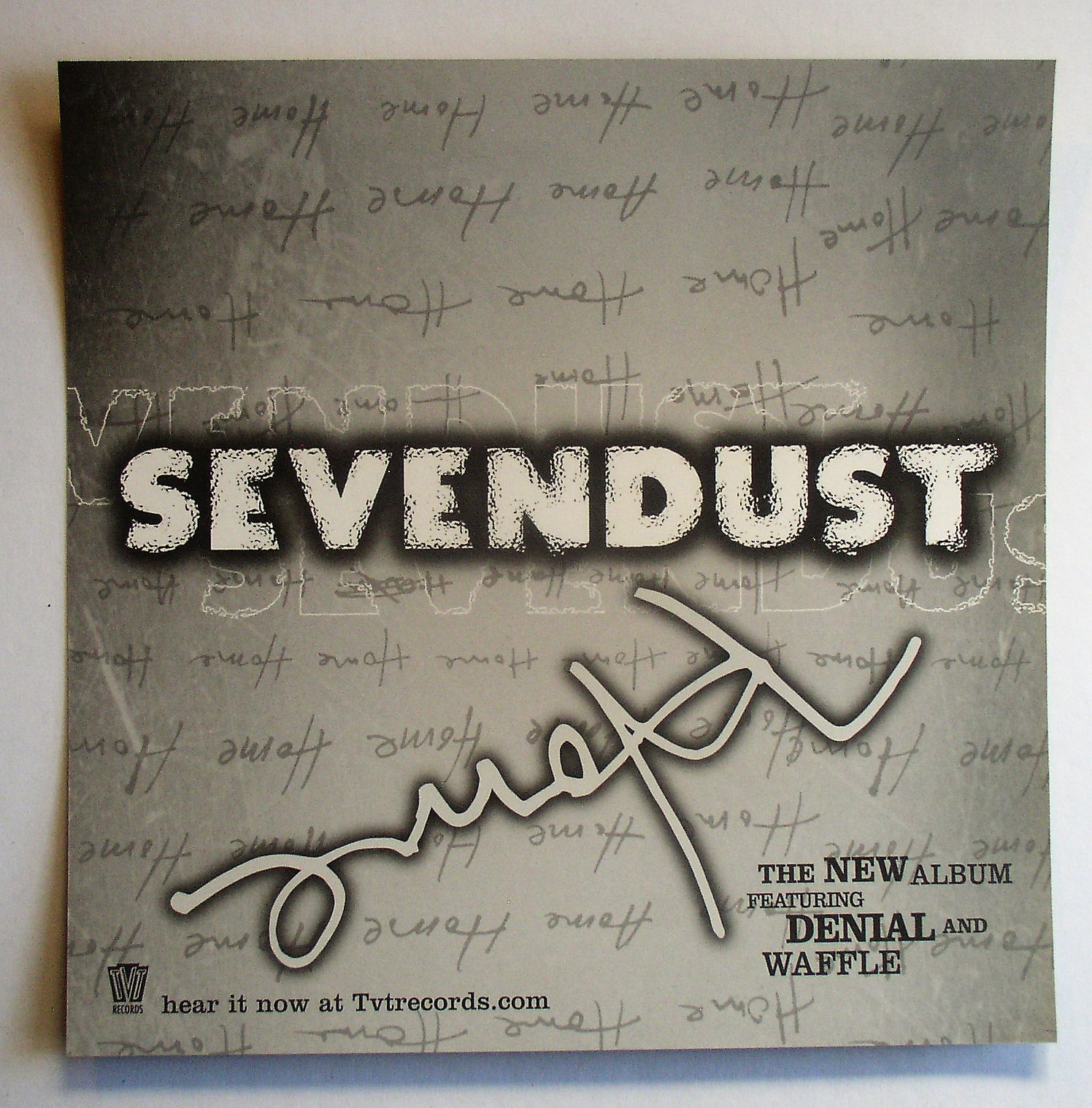 Sevendust / Home – Thingery Previews Postviews & Thoughts