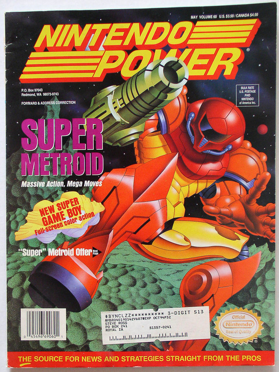 Nintendo Power Magazine Lot 11 issues