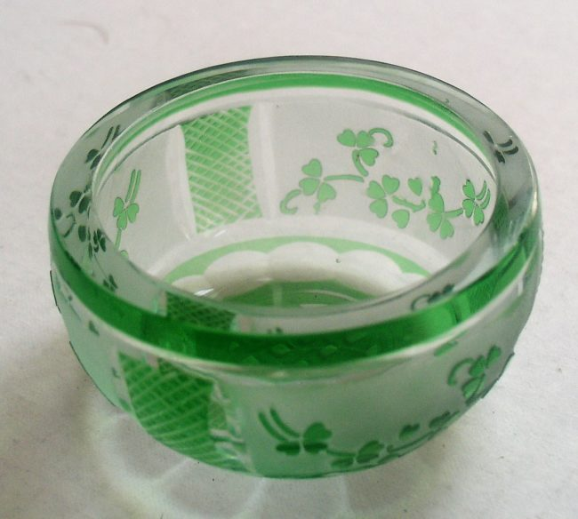 Green Crystal Dish 2