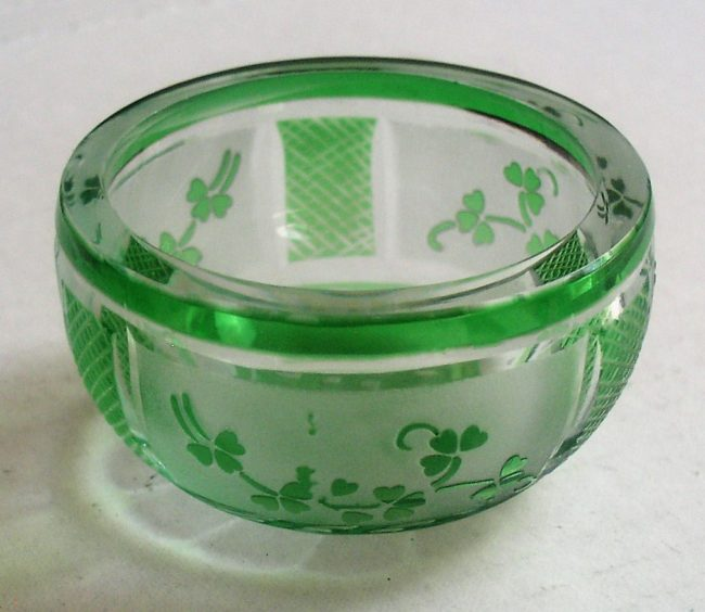 Green Crystal Dish 3
