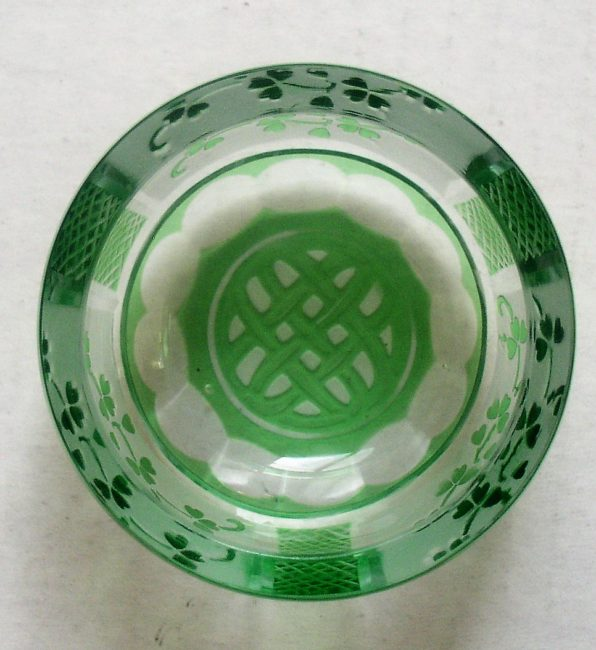 Green Crystal Dish 4