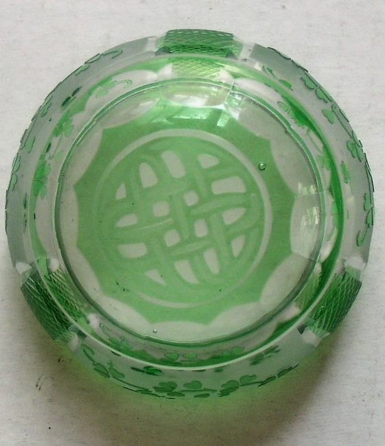Green Crystal Dish 5