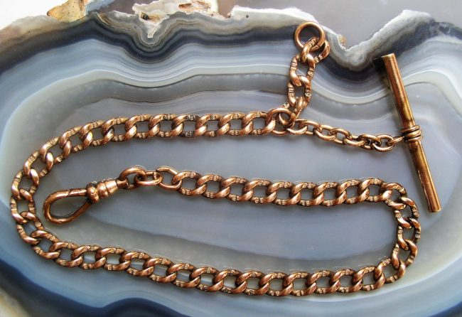 """Yellow Gold Filled 12.5"""" Chain 1"""