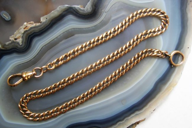"Yellow Gold Filled 14.5"" Chain 2"
