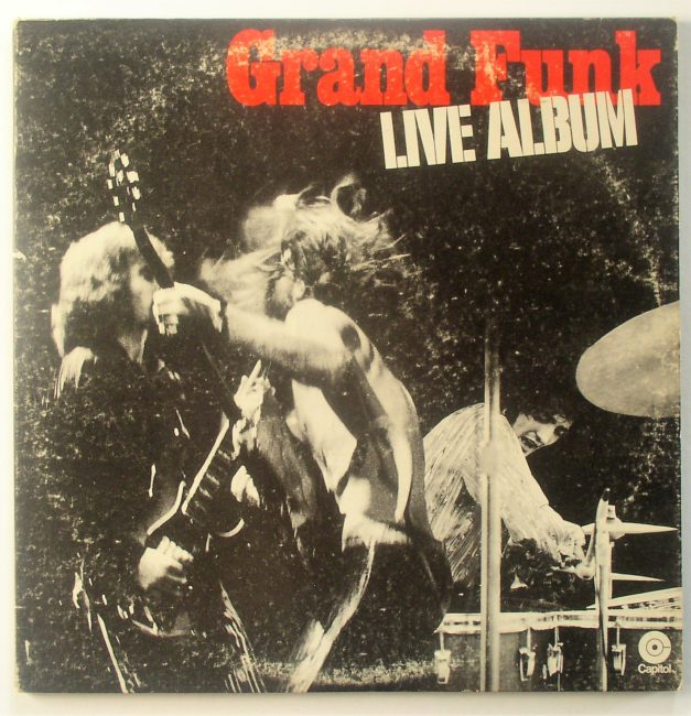 Grand Funk Live LP 1