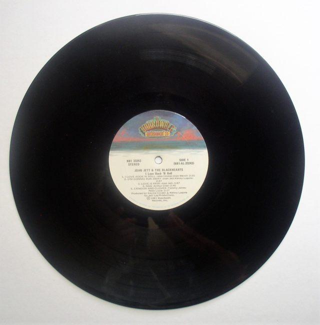 Joan Jett LP 3