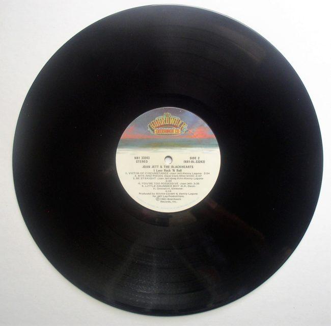 Joan Jett LP 4