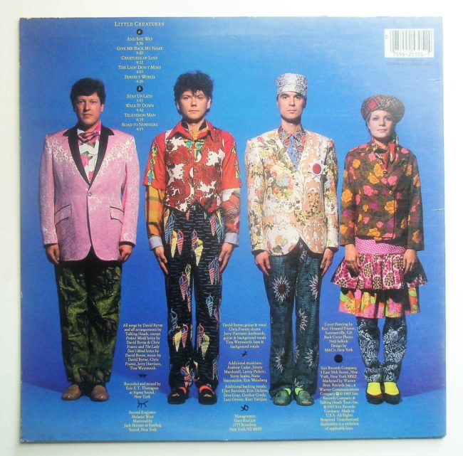 Talking Heads LP 2