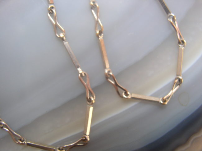 White Gold Filled Chain 2