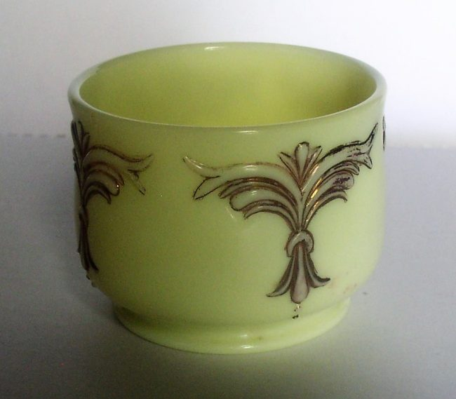 Custard Glass Jar 2