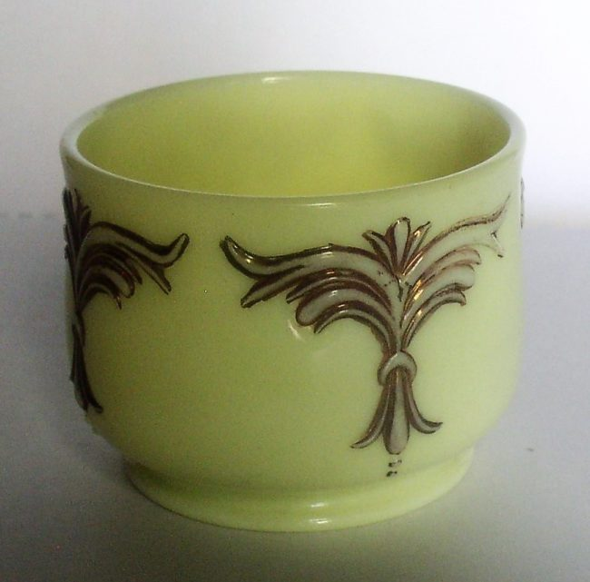Custard Glass Jar 3