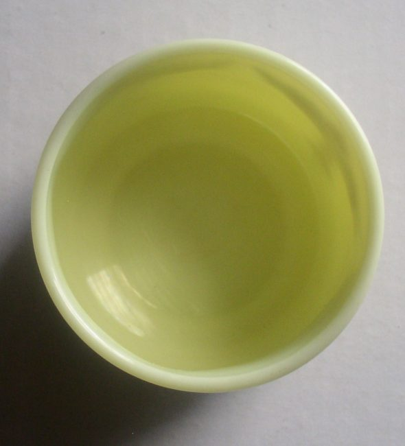 Custard Glass Jar 4
