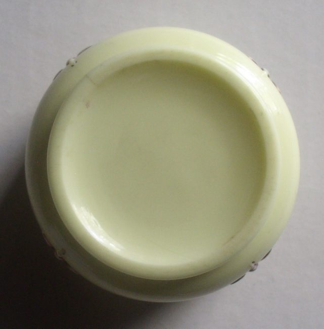 Custard Glass Jar 5