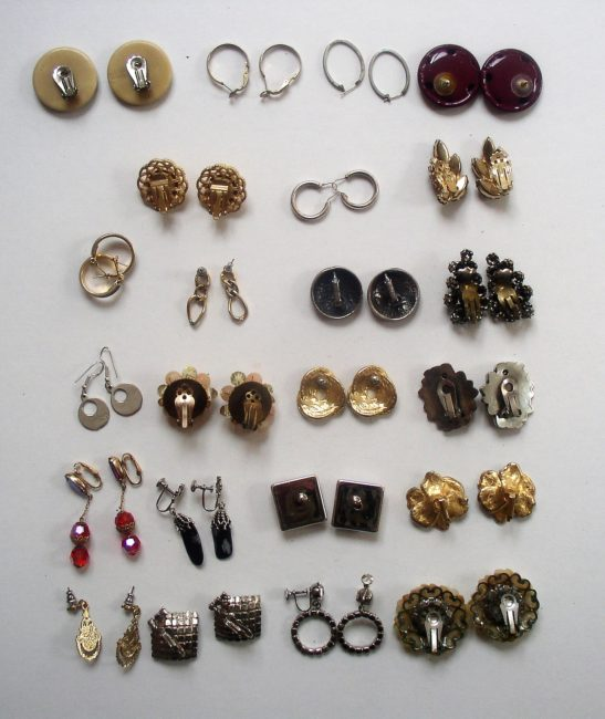 Earring Lot 4