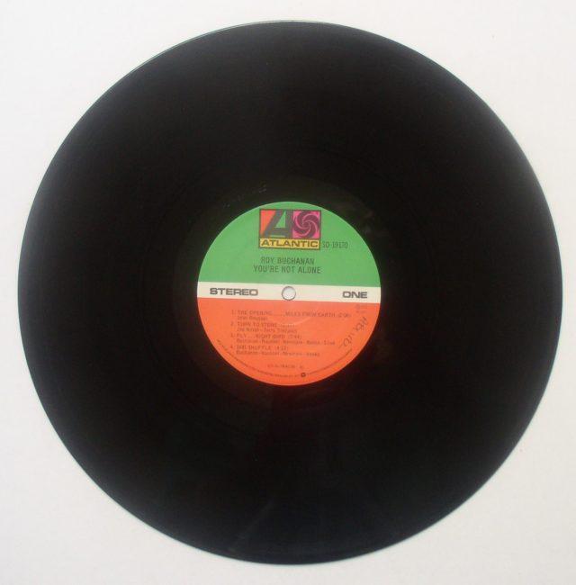 Buchanan Alone LP 3