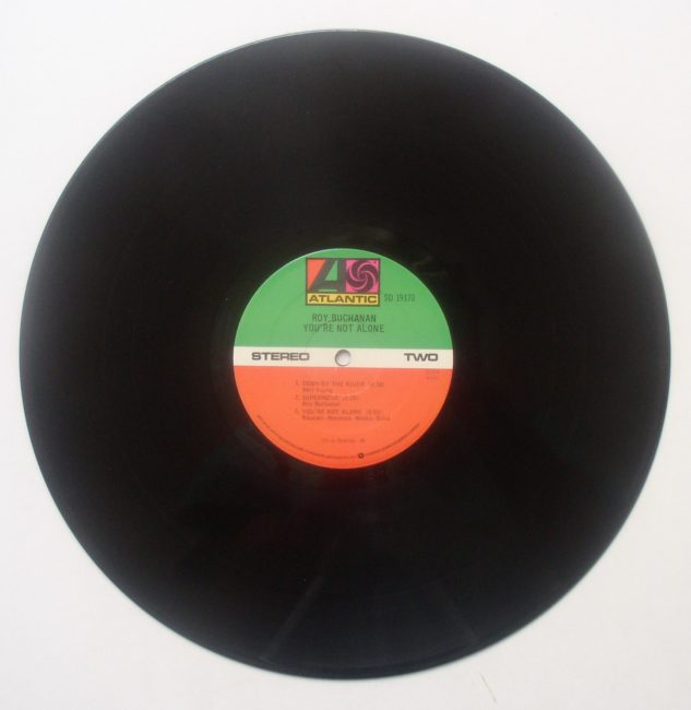 Buchanan Alone LP 4