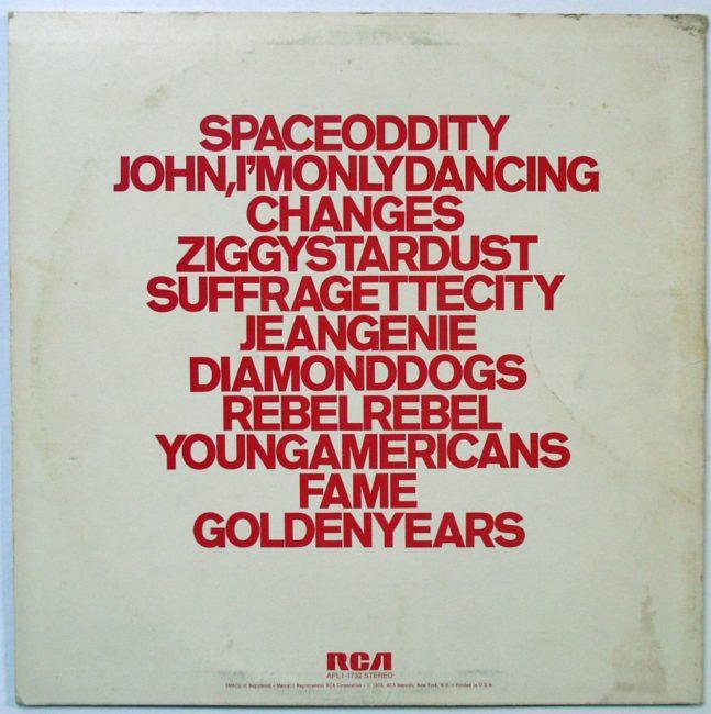 Bowie LP 2