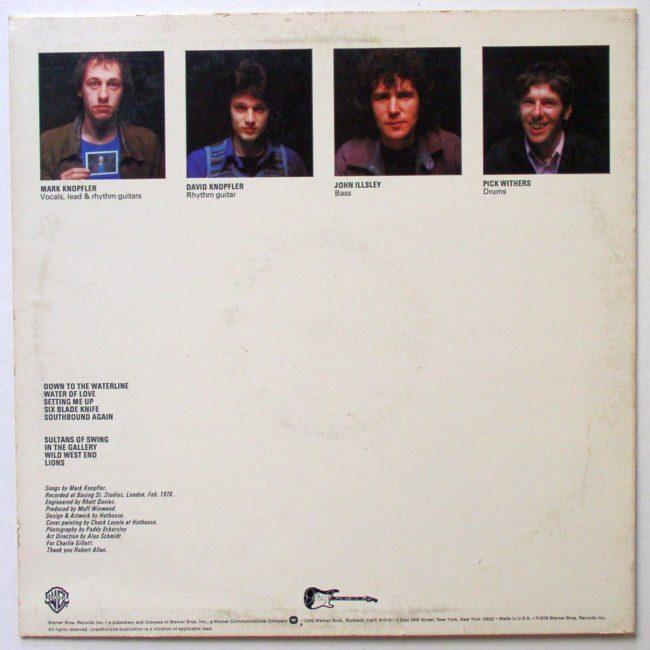 Dire Straits LP 2