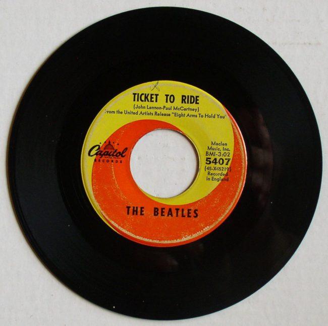 Beatles 45rpm 5407