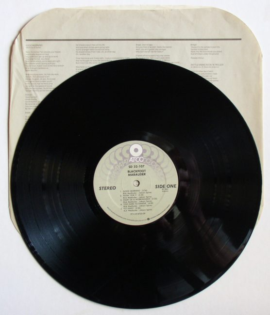 Blackfoot LP 3