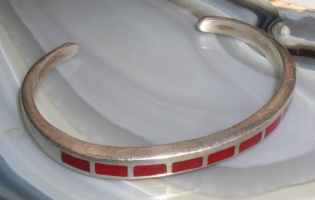 Red Coral Bracelet 1