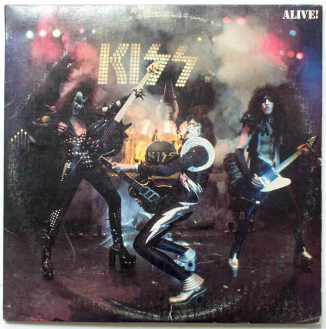 Kiss Alive LP 1