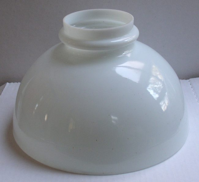Milk Glass Shade 2