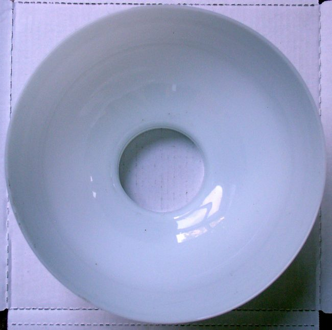 Milk Glass Shade 4