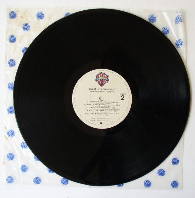 Raitt LP 4