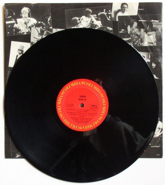 Toto IV LP 4