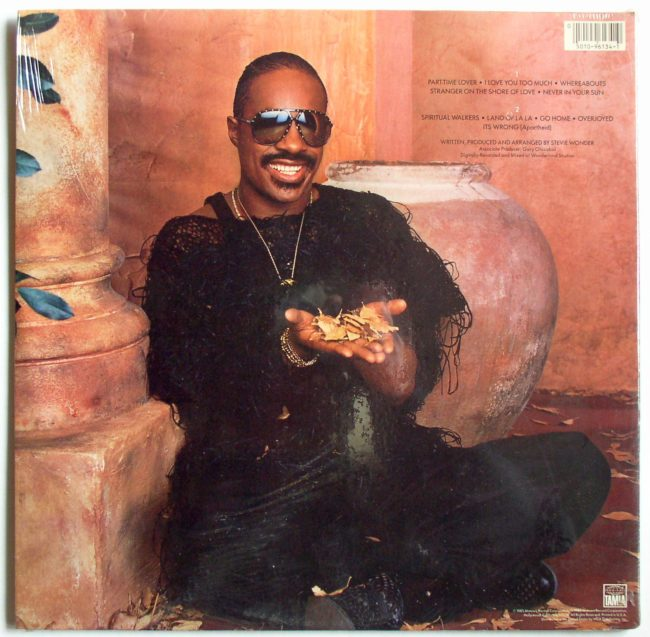 Stevie Wonder LP 2