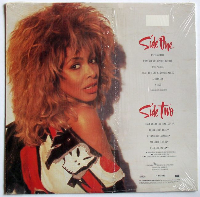 Tina Turner LP 2