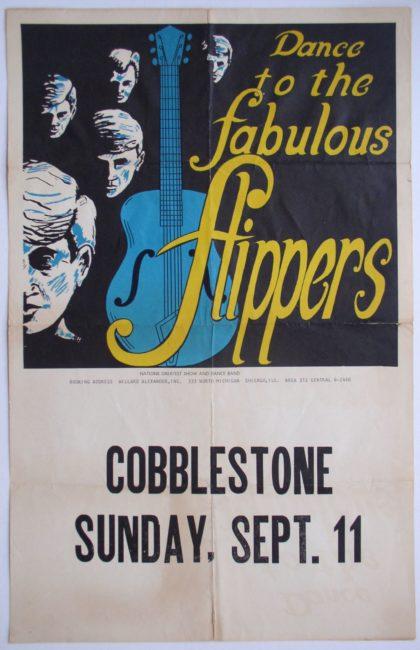 Cobblestone Flippers Poster 2
