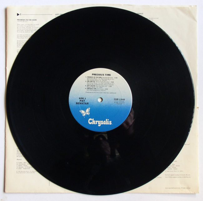 Pat Benatar LP 3