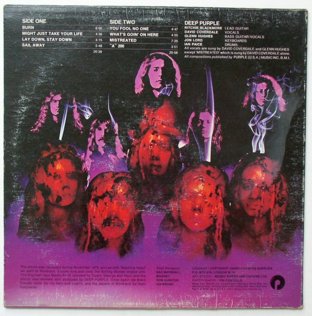 Deep Purple Burn 2