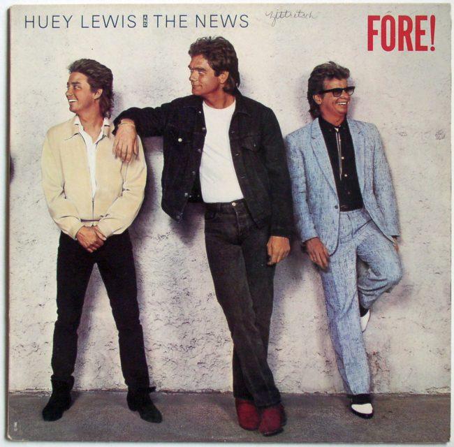 Huey Lewis LP 1