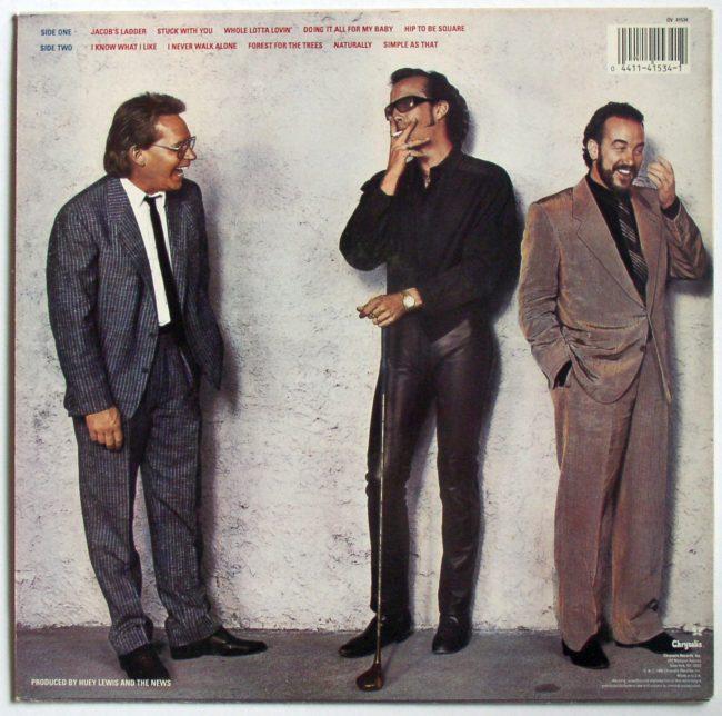 Huey Lewis LP 2