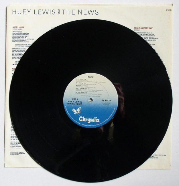 Huey Lewis LP 3
