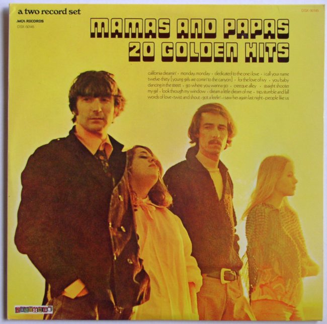 Mamas And Papas LP 1