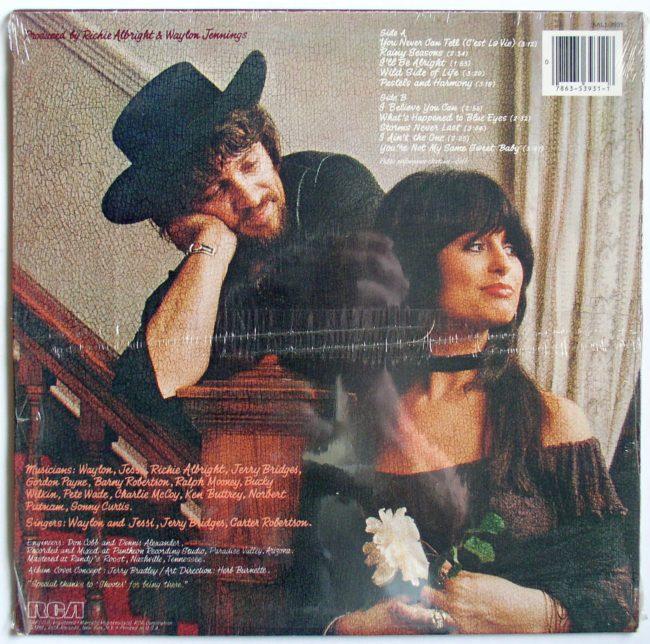 Waylon & Jessi LP 2