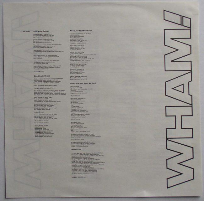Wham LP 6