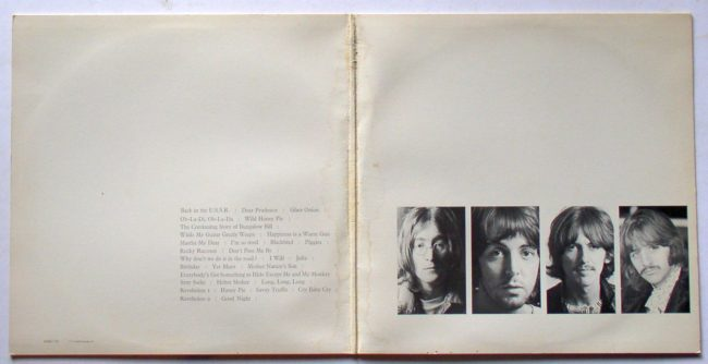 Beatles White Album 3