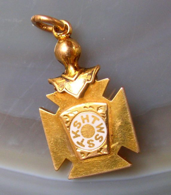 Masonic Pendant 2