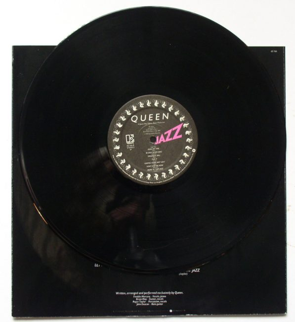 Queen Jazz LP 5