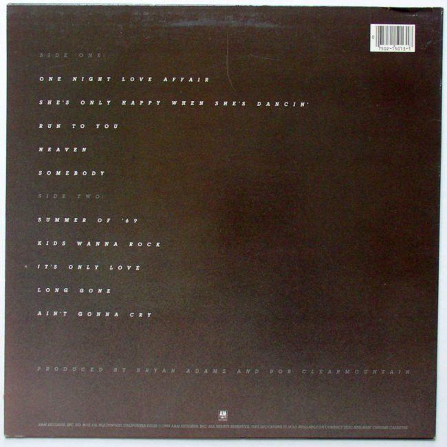 Bryan Adams LP 2